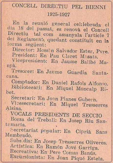 Obra Cristiana nº 31, Febrero de 1925