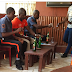 See  Photos Of 2 Bank Security Guards Pictured Drinking Alcohol As Early As 7am In The Morning