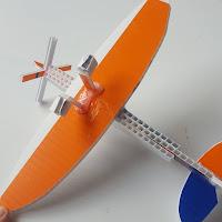 Supermarine Spitfire Model from Scrap Plastic Version 1 - Coroplast DIY - CoroplastCreations.com - photos by: HalifaxSportsPhotos.ca