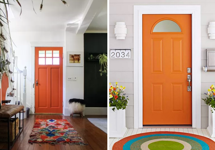 portas laranja