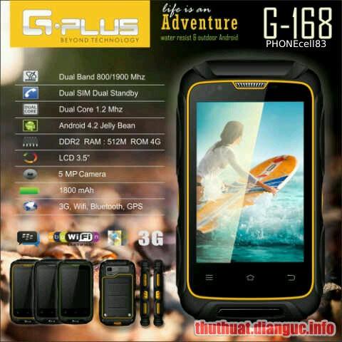 Rom stock G-Plus G168 (MT6572) flashtool ok