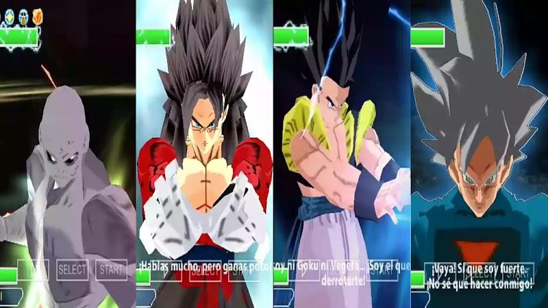 Dragon Ball Z Budokai Tenkaichi 4 DBZ TTT MOD With Permanent Menu
