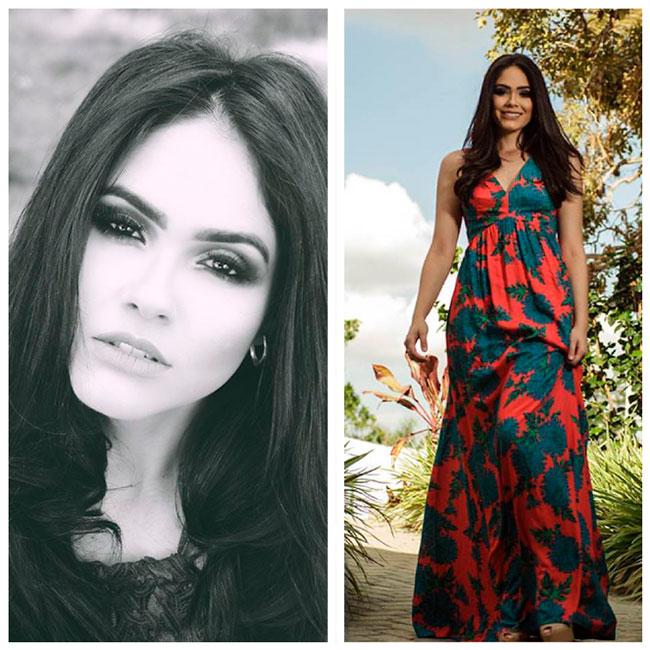 lully Thaísa, Miss Pernambuco 2017 - Foto: Reprodução