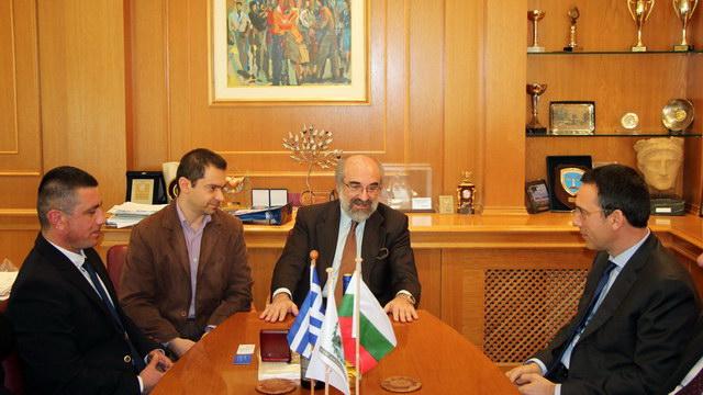 Συνάντηση εργασίας του Δημάρχου Αλεξανδρούπολης με το Δήμαρχο Μπουργκάς Βουλγαρίας