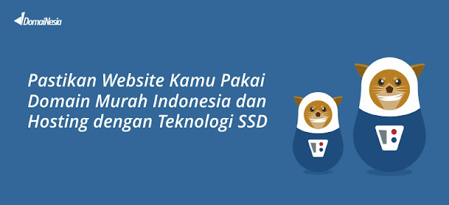 Website DomaiNesia - Blog Mas hendra