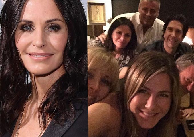 Friends: Courtney Cox fala sobre reunião da série