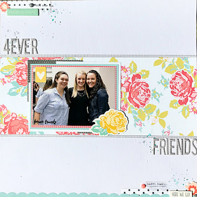 Wedding layout created with Felicity Jane Summer kit