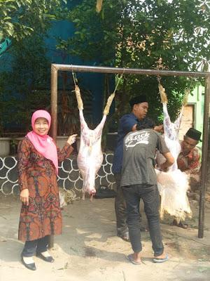 Perayaan Idul Qurban di SDN Jatimekar 6 Bekasi