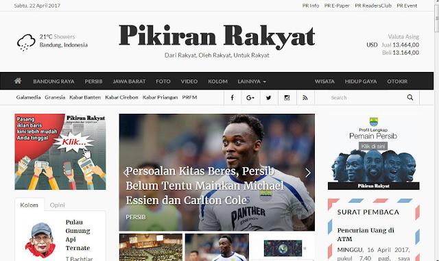 website pikiran rakyat