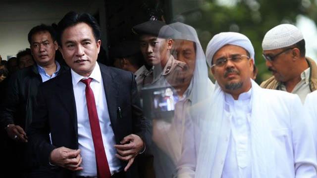 Mau Pilih Prabowo atau Jokowi, Yusril Konsultasi ke NU dan HRS