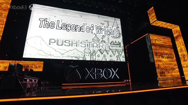 Microsoft Xbox E3 2019 The Legend of Wright