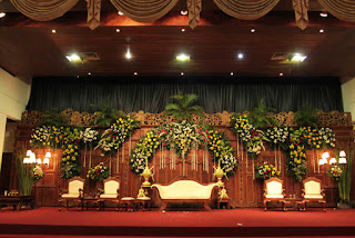 Dekorasi Pernikahan Adat Jawa
