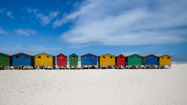 muizenberg - cape town south africa