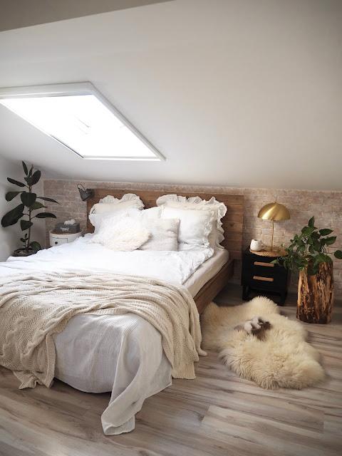 Pierwsze zmiany w nowym roku- metamorfoza sypialni