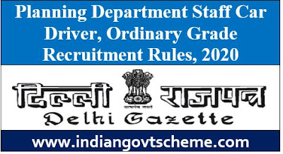 Planning Department Staff Car Driver