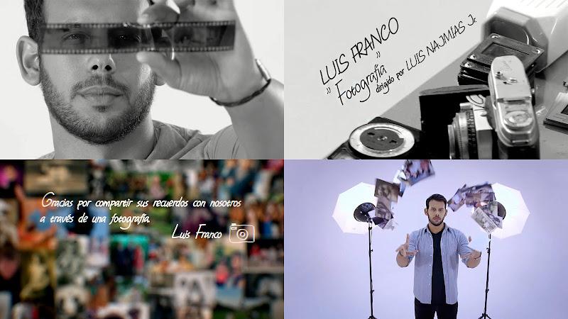 Luis Franco - ¨Fotografía¨ - Videoclip - Dirección: Luis Najmías Jr. Portal del Vídeo Clip Cubano