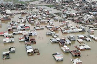Pandemi Corona Belum Mereda, Negara Syiah Iran Dihantam Banjir