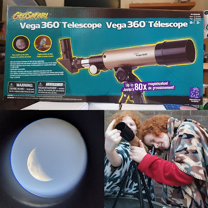 GeoSafari 360 Vega Children's Telescope review for Learning Resources