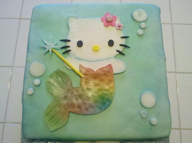 Get Baked Hello Kitty Mermaid