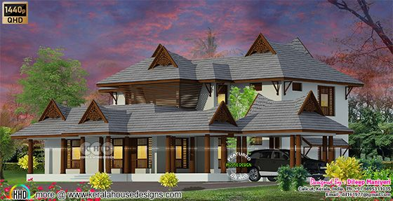 Typical Kerala traditional home