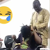 Man Untangling His Wife's Locs While Entertaining Her With Songs (Photo)