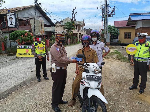 Terjaring Operasi Patuh Telabang di Gumas, Sebanyak 70 Pelanggar Ditilang