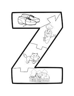 Dibujos del abecedario para imprimir