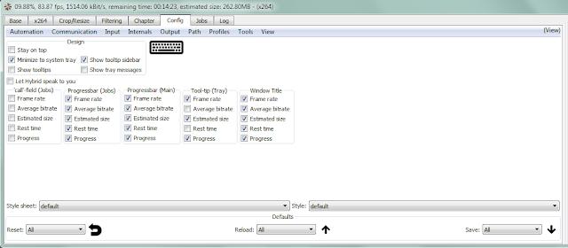 برنامج Hybrid لضغط جميع انواع ملفات الفيديو