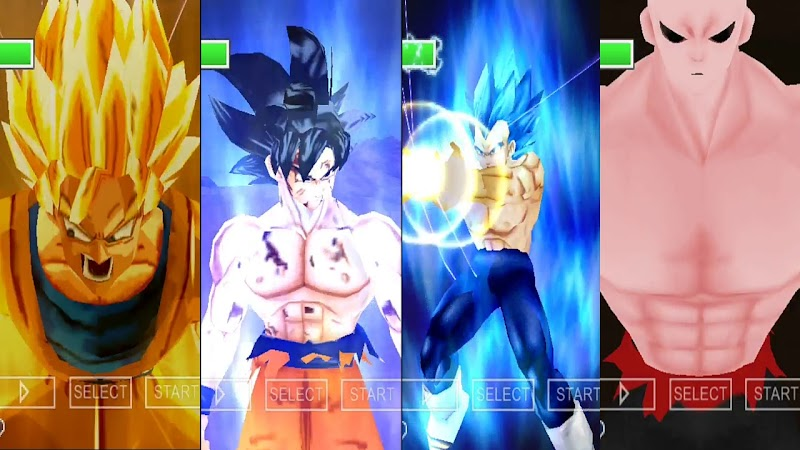 PSP DBZ Game DBZ TTT BT4 MOD With Permanent Menu Download