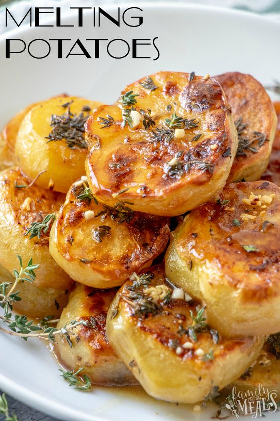 Simple and Easy Make Melting Potatoes