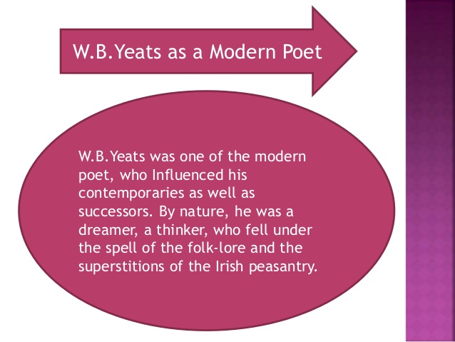 wb yeats as a symbolist