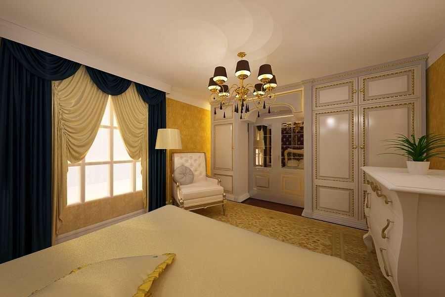 Design interior - dormitor - clasic de lux casa - Bucuresti | design interior dormitor clasic