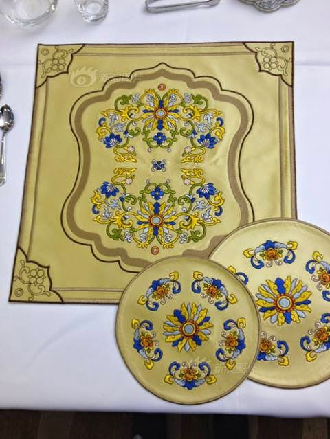 Apec 2014 tableware Beijing China