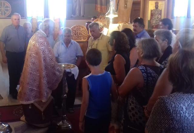 Θεσπρωτία: Πανηγυρικά τιμήθηκε στον εορτάζοντα ναό του Ραγίου Θεσπρωτίας ο Άγιος Κοσμάς ο Αιτωλός