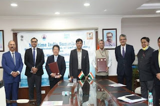 IWAI signed MoU with MOL (Asia Oceania) Pte. Ltd