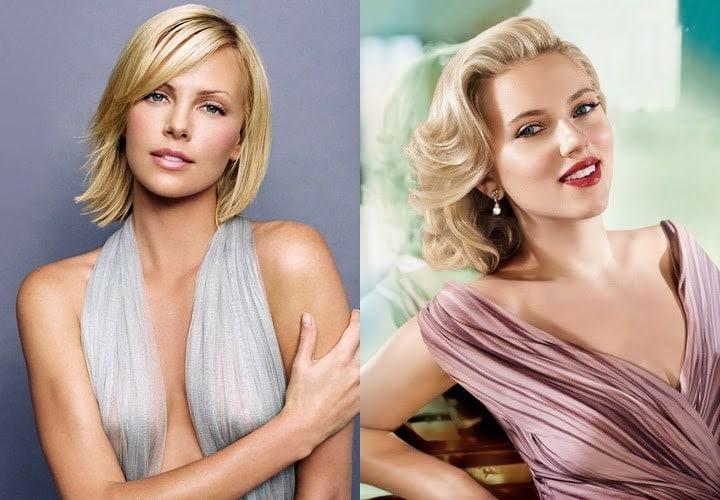 Charlize Theron Scarlett Johansson
