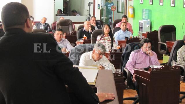 Concejo de Facatativá se mostró descontento frente a lo presentado por la Secretaría de Gobierno