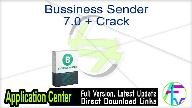 Bussiness Sender 7.0 + Crack