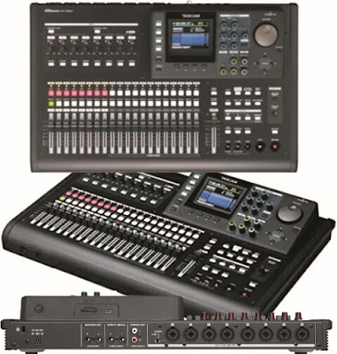 Tascam Studio-Sound Mixer: Multi-Track Music Audio Recorder - DP-32SD