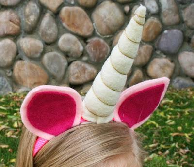 vincha de unicornio