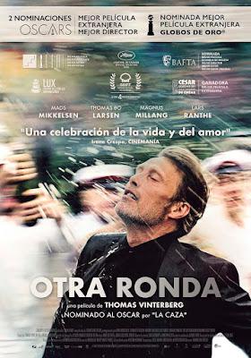 Otra ronda (Drunk) cartel película españa