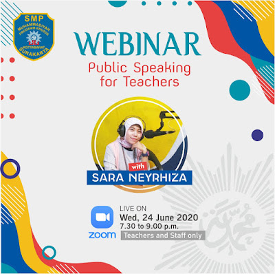 Pelatihan Public Speaking for Virtual Teacher