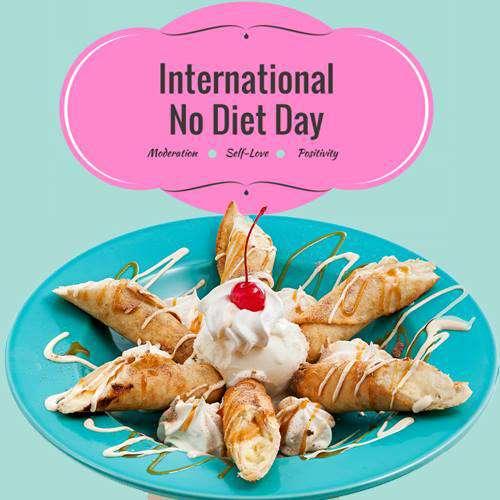 International No Diet Day Wishes Photos
