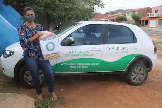 """975 famílias foram beneficiadas com a 9ª Etapa da Campanha """"Nem Vírus, Nem Fome: Compaixão"""" em Itapiúna e região"""