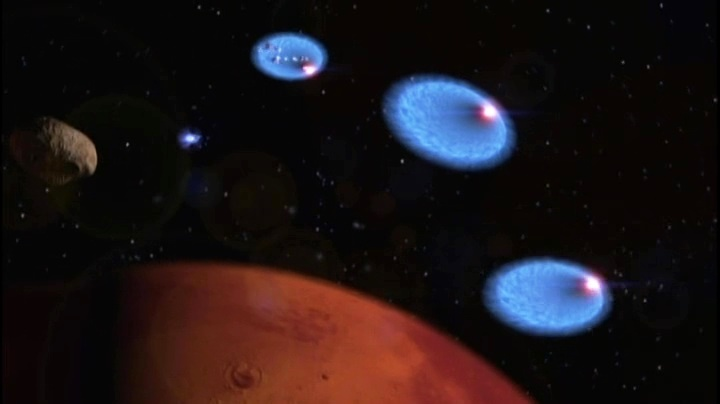 Mars in Babylon 5 - Jumping off from hyperspace