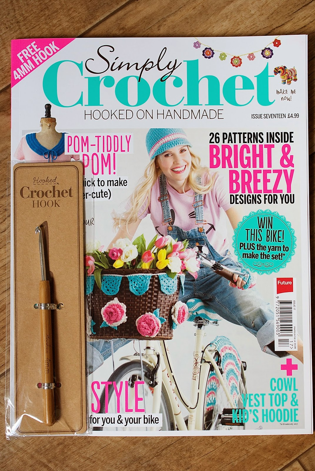Greedy For Colour Simply Crochet Mag Giveaway