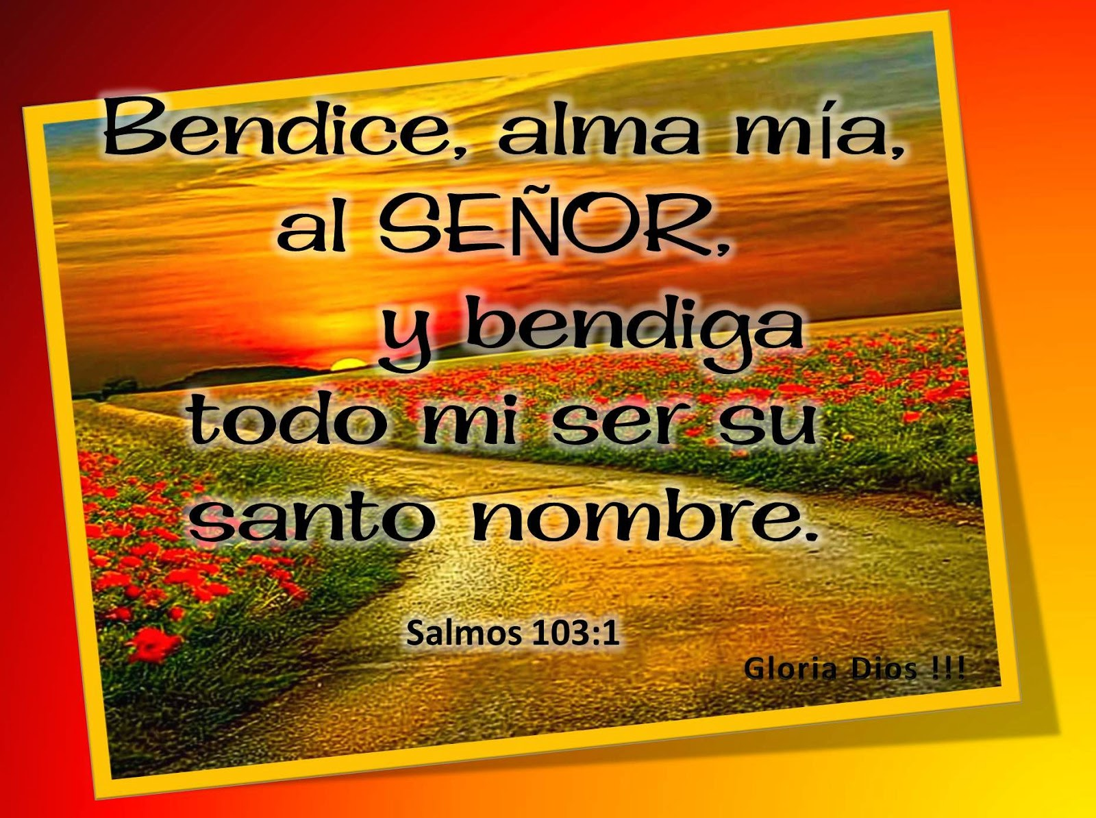 Estudio Bíblico Eficaz Día 103 Todo Mi Ser Bendice Al Señor