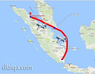 Lampung - Batam - Medan