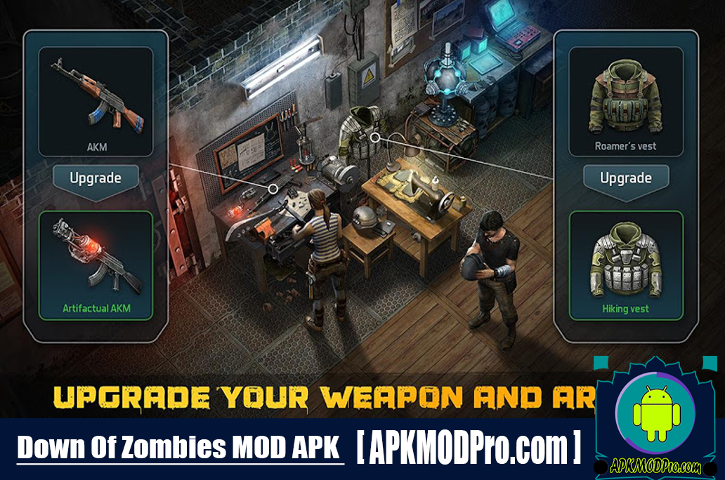 Download Dawn of Zombies MOD APK 2.43 (MOD Unlocked, Free Build) For Android
