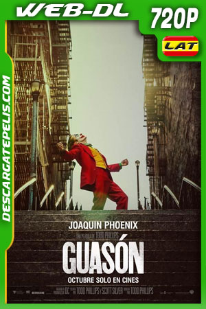 Guasón (2019) 720p WEB-DL Latino – Ingles